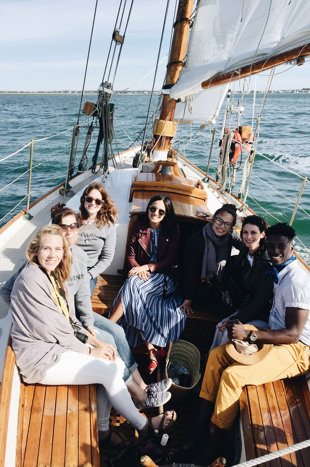 Endeavor Sailing with the Schiwnn Ambassadors in Nantucket | Nicole Victory Design