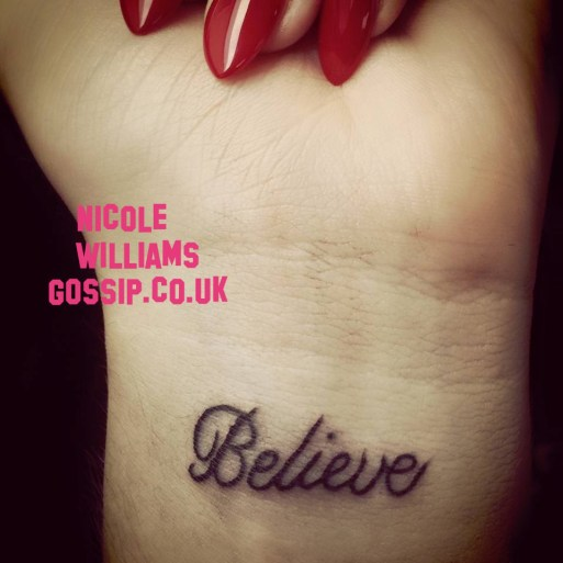Nicole Williams Get's Her First Tattoo!
