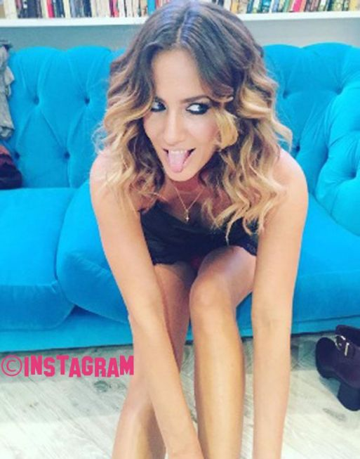 Carolline Flack Flahses Her Underwear In Saucy Instagram Snap