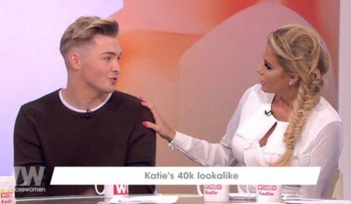 Katie Price Superfan Spent £40,000 To Look Like His Idol Appears On Loose Women