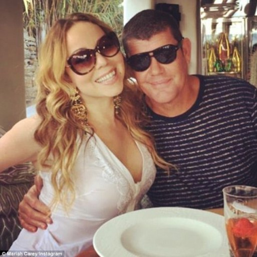 Mariah Carey Has Lovely Break With Her Beau Fiancé James Packer And Her Kids!