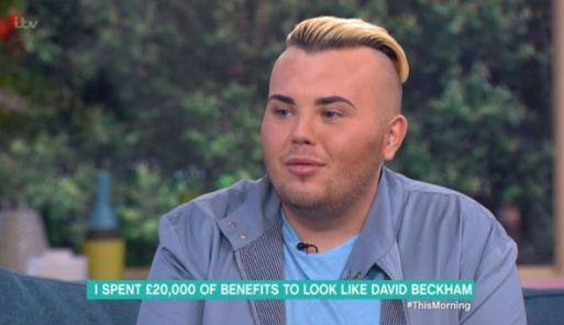 This Man Sends £20,000 To Look Like David Beckham