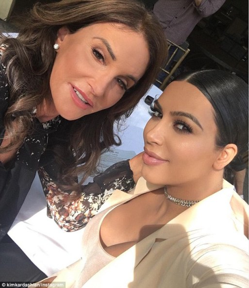 Caitlyn Jenner Sends Love To Kim Kardashian After She Was Criticized For Sharing Another Snap!