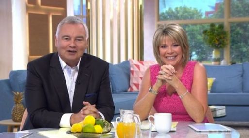 Eamonn Holmes Left Asking Why He's Receiving Lots Of Tweets After Wife Ruth Langsford Makes Her Sex Face On Loose Women