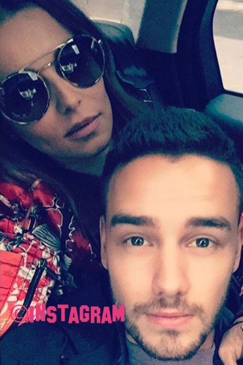 Liam Payne And Cheryl Trying To Keep A Low Profile In London