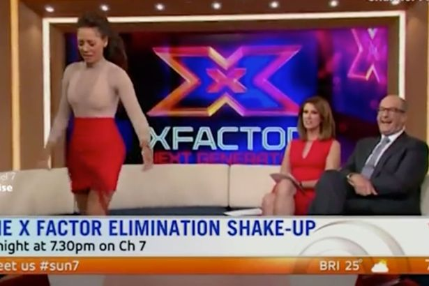 Mel B Storms Off TV Set After She Is Asked About Iggy Azalea