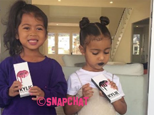 North West Is A Big Fan Of Kylie Jenner's Lip Kits