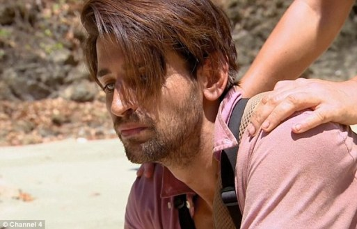 Ollie Locke Angers Viewers As He Showed No Remorse As He Stabs Crocodile On Celebrity Island With Bear Grylls