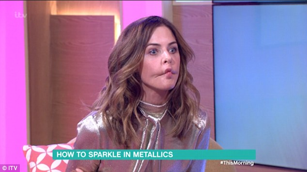 Phillip Schofield Calls Trinny Woodall A Koi Carp After He Says Her Top Look's Like A Fish On This Morning