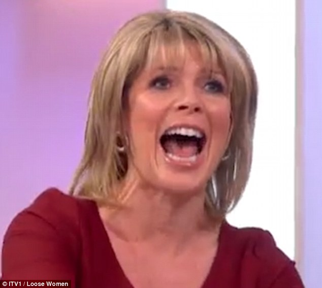 Ruth Langsford Acts Out How She Has Sex With Eamonn Holmes On Loose Women