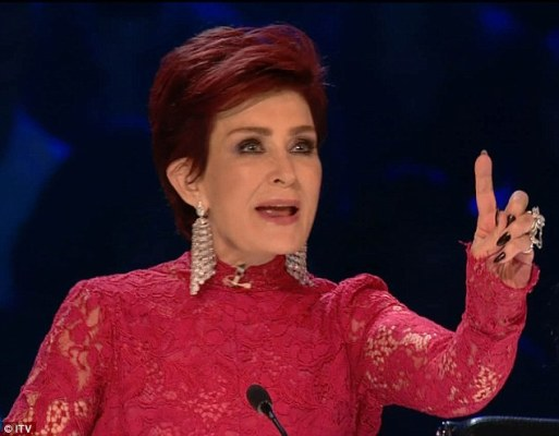 Sharon Osbourne Admits That It's All Entertainment After Viewers Accused Her Of Being Drunk On X Factor