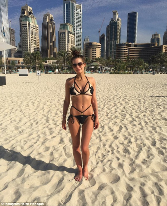 Helen Flanagan Flashes Her Very Toned Body In New Holiday Instagram Snap