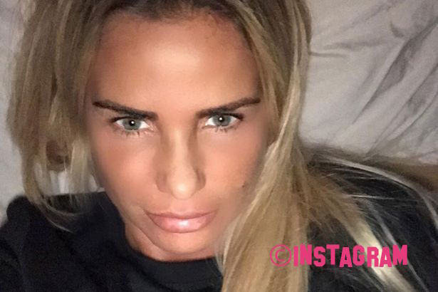 Is Katie Price Risking New Eye Surgery After Wearing Makeup Just One Day After