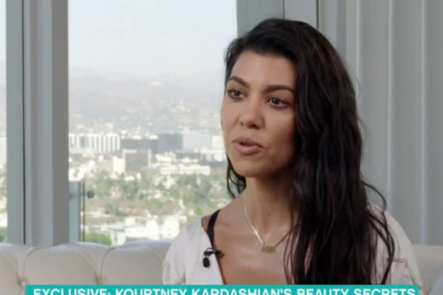 Kourtney Kardashian Admits She Buys Daughter Makeup During Interview On This Morning