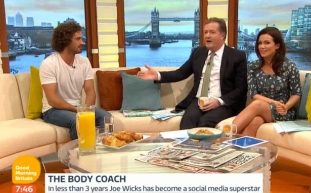 Piers Morgan Gets Accused Of Bullying The Body Coach On Good Morning Britian