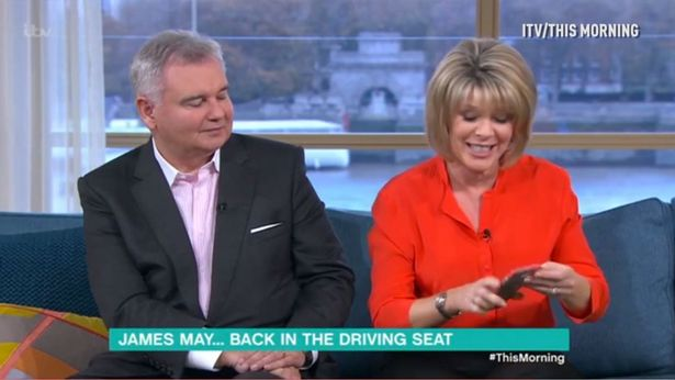 Ruth Langsford's Phone Goes Off Live On This Morning During Interview With James May