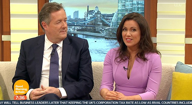 Susanna Reid Causes Twitter Frenzy As She Has Her Boobs Out On Good Morning Britain