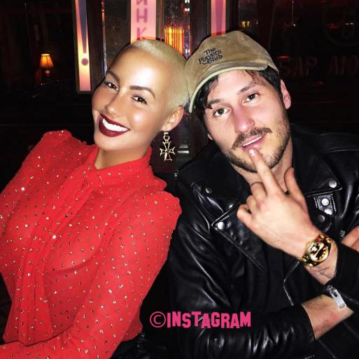 Amber Rose Gets A New Love As She Confirms Her And Val Chmerkovskiy Are 'Very Happy'