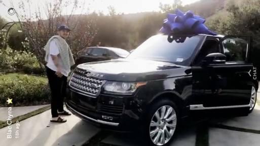 Blac Chyna Buys Rob Kardashian A Brand New Range Rover!