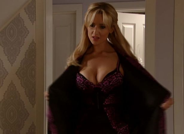 Coronation Street Eva Price Strips Down To Sexy Lingerie Sending Viewers Crazy