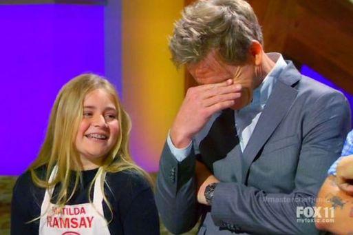 Gordon Ramsay's Young Daughter Matilda Is Releasing Her Own Cookbook