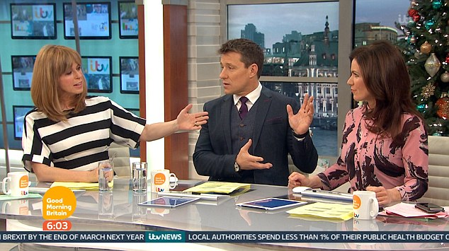 Kate Garraway Swipes At Susanna Reid 'Messy Dress' On Good Morning Britain