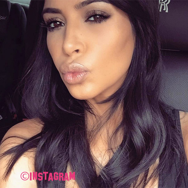 Kim Kardashian Makes Racy Return To Social Media