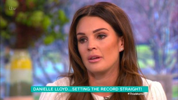 Danielle Lloyd Talks About The Trouble Ex Husband Jamie O'Hara Is Doing By Talking About Her In Celebrity Big Brother As She Admits Their Boys Are Getting Picked On