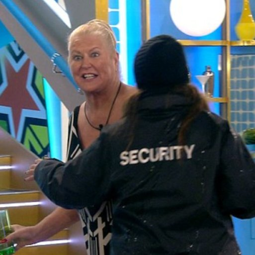Kim Woodburn Gets Removed From The Celebrity Big Brother House After Row With Jamie O'Hara And Nicola McLean
