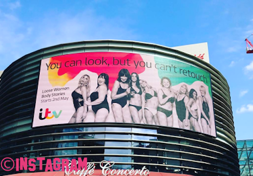 Loose Women Show Off Their Curves As They Pose In Their Underwear Apart Of New ITV Campaign