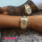 Megan McKenna Throws Shade At Pete Wicks By Posing With New Rolex Watch On Diffrent To What Her Ex Gifted Her