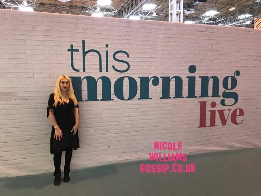 Nicole Williams Attends The This Morning Live Event In Birmingham