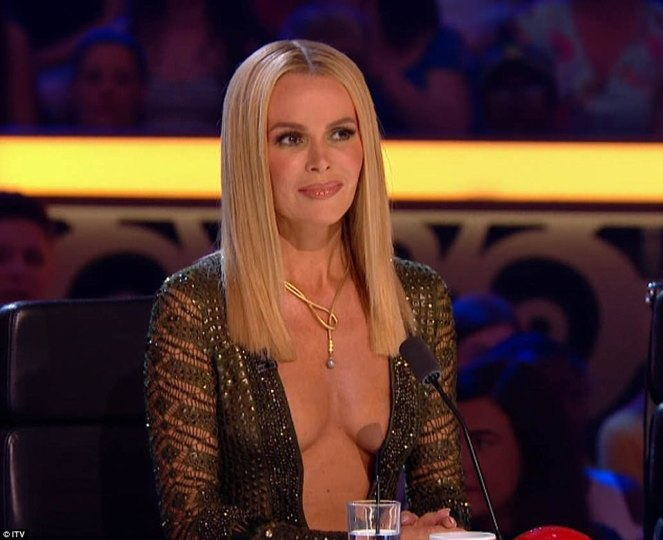 Amanda Holden Causes Ofcom Investigation After Revealing Dress Showing Off Her Breasts