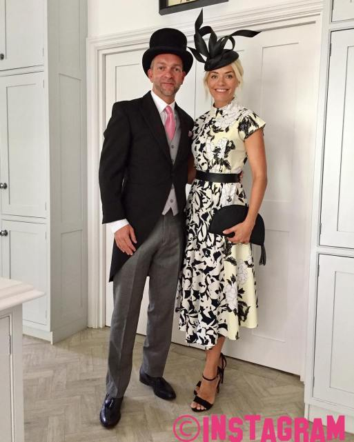 Holly Willoughby Looks Stunning As Her And Husband Dan Baldwin Attend Royal Ascot