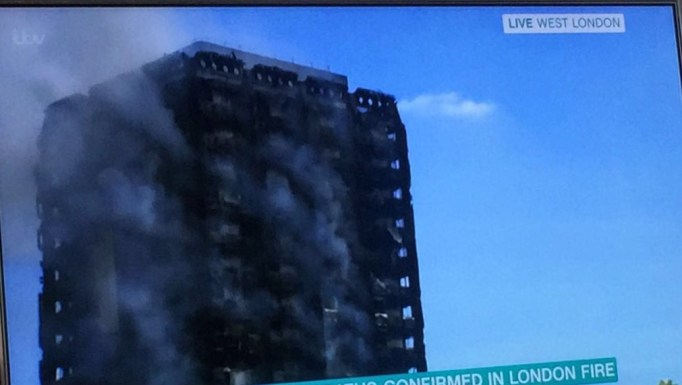 Breaking News! Deaths Confirmed As Block Of Flats Go Up In Flames In London
