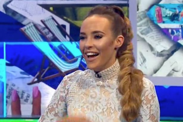 Stephanie Davis Talks About What Would Happen If Her Baby Was Brought Up In Big Brother