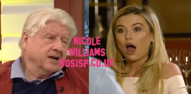 Boris Johnson's Dad Stanley Johnson Can't Take His EYES Off Georgia Toffolo In New I'm A Celeb Photos