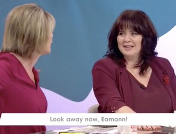 """Coleen Nolan Calls Ruth Langsford An """"Old Slapper"""" After She Fell On Top Of Anton Du Beke On Strictly Come Dancing"""