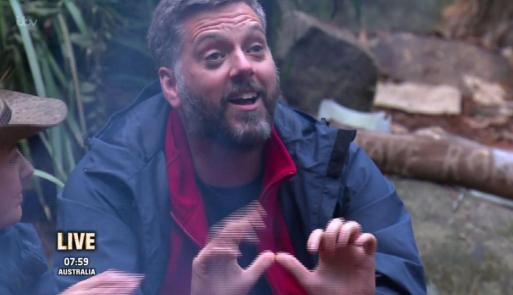 Iain Lee Has Been Sending Secret Messages To His Loved Ones From I'm A Celebrity Jungle