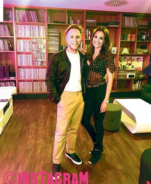 Olly Murs And Melanie Sykes Have Been Dating For Over A Year!