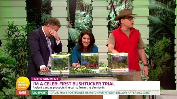 Piers Morgan Slams Amir Khan On Good morning Britain Over His Failed Trial On I'm A Celebrity