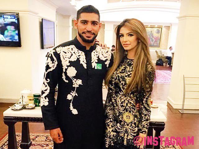 Amir Khan Still Hasnt Returned Home To Pregnant Wife After Leaving I'm A Celebrity Jungle