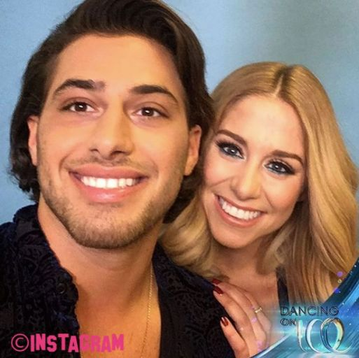Is Kem Cetinay Getting Close With Dancing On  Ice Partner Alex Murphy After Amber Davis Split