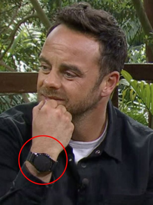 Just Why Has Ant McPartlin Got His Watch Covered Up On I'm A Celebrity