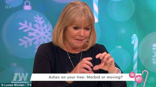 Linda Robson Confesses That She Kepted Dead Loved Ones Ashes In her Underwear Draw