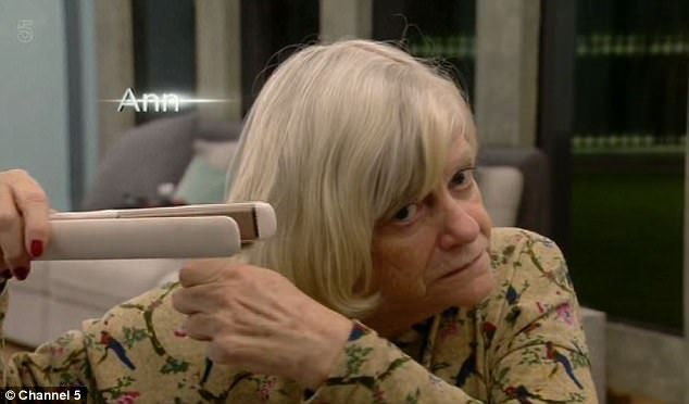 Ann Widdecombe Leaves Viewers In Stitches As They Watch Her Straighten Her Hair