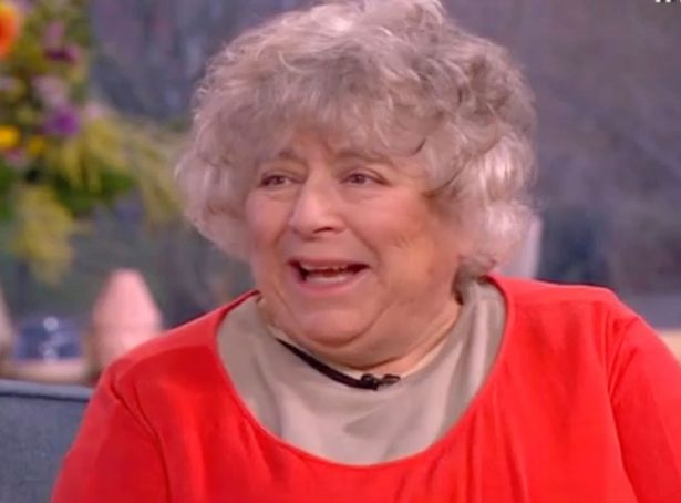 Miriam Margolyes Left Embarased After This Morning Show Sceen Of Her Farting Live On Air