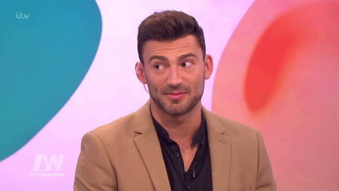 Dancing On Ice's Jake Quickenden Has Gave Up Sex!