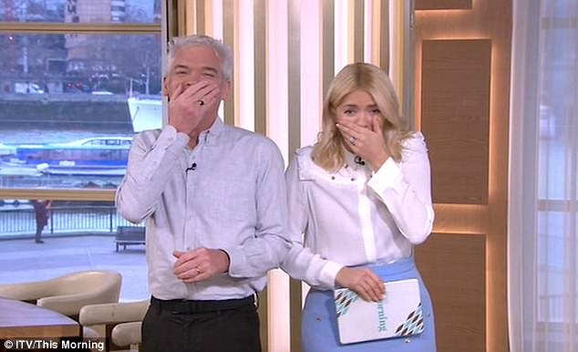 Phillip Shcofield Says 'Get Ready To D*** Out' Live On This Morning By Mistake!