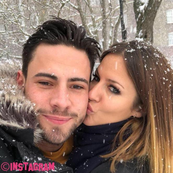 Caroline Flack Confirms Relationship With Celebrity Big Brother's Andrew Brady With This Loved Up Photo